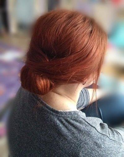 Gładka Fryzura Wykonana Na Chrzciny Włosy Puszące Się Na