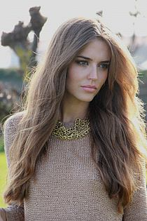 Długie Włosy Bez Grzywki Fryzura Dla Długich Włosów Bez Na