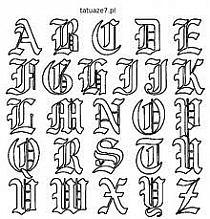 Ozdobne Litery Na Stylowipl