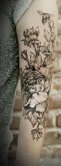 Tatuaż Na Przedramieniu Dziewczyny Mandala Na Stylowipl