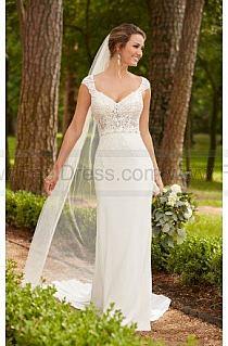 9b843ff20cd Dodaj do swojej kolekcji Edytuj Lubię to Ustaw jako okładkę kolekcji  Komentuj. Otwórz. 1. Stella York Cap Sleeve Column Wedding Dress ...