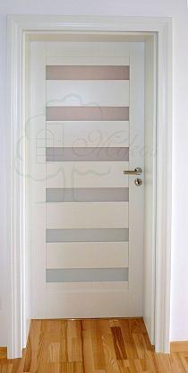 Dodatkowe Drzwi wewnętrzne drewniane białe klasyczne na Stylowi.pl HU03