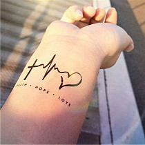 Tatuaż Never Give Up Na Stylowipl