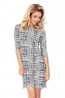 7e33154d7a czarno-biała sukienka Simple