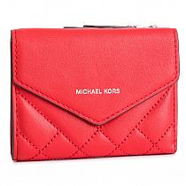 321c6ba7424d MICHAEL Michael Kors Scout Leather Crossbody Red na Stylowi.pl