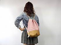 94d92d9f6198f Dodaj do swojej kolekcji Edytuj Lubię to Ustaw jako okładkę kolekcji  Komentuj · Otwórz. Duży różowy plecak worek - Sklep Online Artyferia
