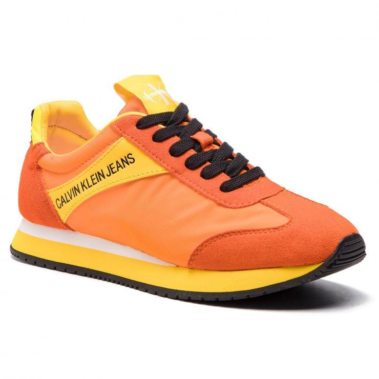 Sneakersy CALVIN KLEIN JEANS Jill R8527 Multi Beet Red