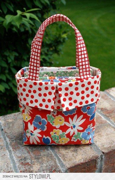 Jak uszyć kolorową torebkę | Kreatywne tworzenie na Stylowi.pl