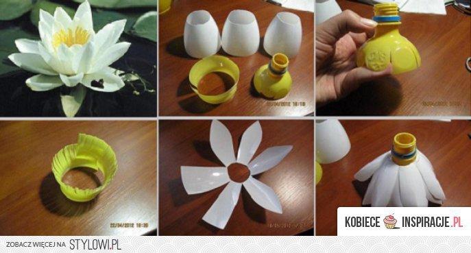 Kwiaty Z Plastikowych Butelek Kobiecein Na Stylowi Pl