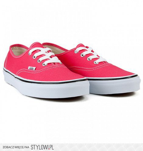 Vans Authentic Rouge RedTrue White na Stylowi.pl