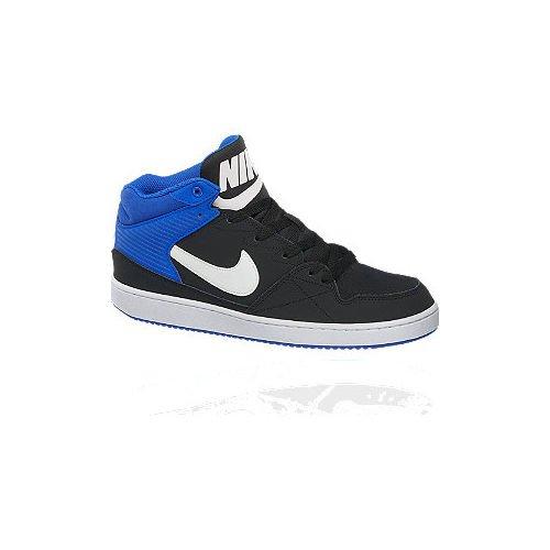 buty męskie Nike Priority Mid Deichmann czarno biały na