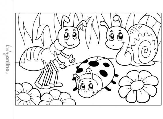 Wiosenne Kolorowanki Dla Dzieci Do Druku Strona 6 Na Stylowi Pl