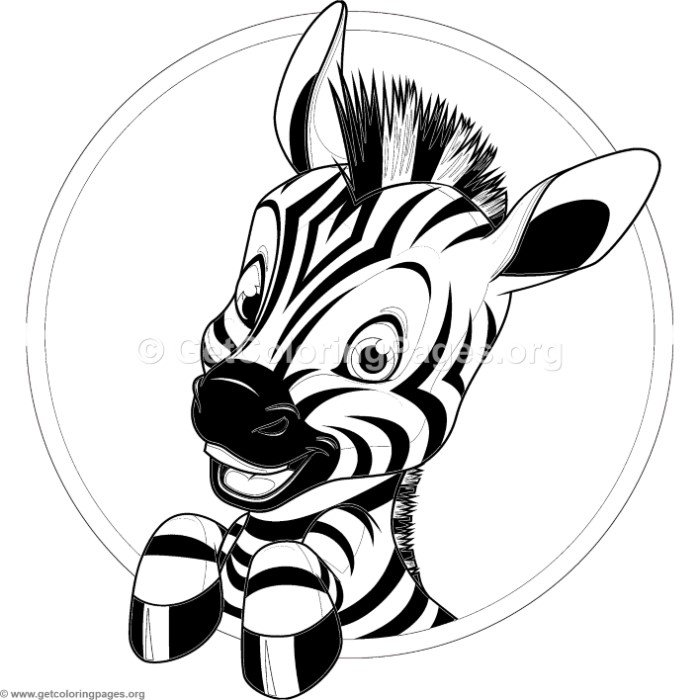 30+ Marvelous Photo of Zebra Coloring Pages | Animal coloring ... | 700x700