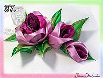 Kwiaty Wykonane Z Satynowej Tasiemki Na Stylowi Pl